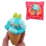 Оригинал Meistoyland Squishy Bird Ice Cream Медленный рост Squeeze Toy Stress Gift Collection