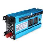 Оригинал 3000WLEDДисплейСолнечнаяСиловойинвертор Модифицированная синусоидальная DC 12V / 24V для AC 220V Dual Screens