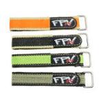 Оригинал 2Pcs RJX FPV AF 220x20mm Colorful Батарея Ремешок с металлическим застежкой для RC Дрон Батарея