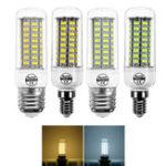 Оригинал E14 E27 7W 72 SMD 5730 Теплый белый Чистый белый LED Кукурузная лампа для домашнего украшения AC220V