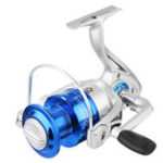 Оригинал ZANLUREFC1000-60005.2:1/4.7: 1 8BB Spinning Рыбалка Reel Blue Sea Рыбалка Катушка для спиннинга