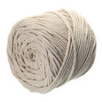 Оригинал 125M 4 пряди натуральный плетеный хлопок Веревка 4мм макрам малогабаритный многофункциональный Набор