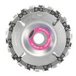 Оригинал 4 дюймов Шлифовальный диск и цепь 22 Зубчатая сетка с тонкой режущей кромкой для шлифовального станка 100/115