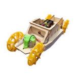 Оригинал DIY Электрический амфибийный робот Авто Эксперимент по научным технологиям Creative Toys Kits