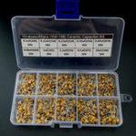 Оригинал 500Pcs Многослойный Керамический Конденсатор 10 Значения x50 0.1uF ~ 10uF (104 ~ 106) Ассортимент Коробка