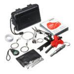 Оригинал SOS Emergency Кемпинг Выживание Набор Набор Выживание Gear Наборs Emergency SOS Survive Инструмент