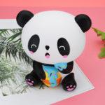 Оригинал Squishy Station Panda 14.5cm Симпатичные медленно растущие игрушки стресс помощи Soft животных Кукла Подарок с упаковкой