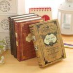 Оригинал 1Pcs Винтаж Hard Cover Notebook Дневник Журнал Путешествия Бизнес Школа Написание блокнотов Поставки