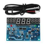Оригинал 12V 10A -40 ° C до -300 ° C LED Интеллектуальный цифровой терморегулятор с тремя синхронными синхронными ОС Дисплей