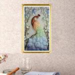 Оригинал Новые5DDiyромбКартинаКрасивые рисунки павлина Алмазная живопись Крест-вышивка Животные Рукоделие Rhinestones Вышивка