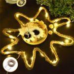 Оригинал 2.1M Батарея Управляемый конопля Веревка LED Медь Провод String Fairy Light для отдыха Home Party Decor