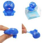 Оригинал Mochi Squishy Robot Кот Squeeze Cute Healing Toy Kawaii Коллекция Stress Reliever Подарочный декор