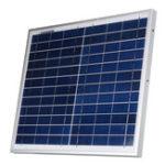 Оригинал 12V 12W Polysilicon Солнечная Панель Батарея Модуль системы зарядного устройства Marine Лодка RV Водонепроницаемы