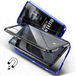 Оригинал Bakeey360°Полноемагнитноепоглощение металла Металлическое прозрачное стекло Защитное Чехол для iPhone X
