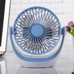 Оригинал ЭлектронныйпортативныйUSB-зарядкаDesktopMini180 Degree Rotation 2 класс Adjustment Fan для домашнего офиса