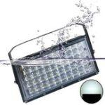 Оригинал 50W 4500lm Водонепроницаемы IP65 48 LED Наводнение с подсветкой Объектив на открытом воздухе Лампа AC220V