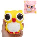 Оригинал Сова Squishy 11,5 * 10 см медленно растет с подарком коллекции упаковки Soft Toy