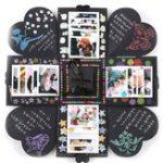 Оригинал Creative DIY Manual Explosion Коробка Память записки Фотоальбом Craft Kits Gifts
