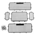 Оригинал Защитная решетка из нержавеющей стали + задняя сетка для 1/10 Traxxas TRX-4 Rc Авто Запчасти 5 шт. На комплект
