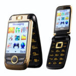 "Оригинал BLTv9982.6""2000mAhDual Сенсорныйэкран Dual экран Dual SIM Волшебный Voice Flip Feature Phone"