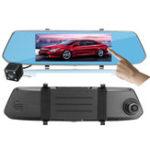 Оригинал 7 Inch HD 1080P 2.5D Full Screen Touch Display Car DVR Dual Lens Camera Recorder