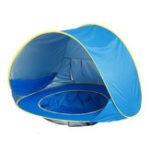 Оригинал ПортативныедетскиедетиПляжныйPopUp Play Палатка Anti-UV Sunshade Shelter с водой Бассейн