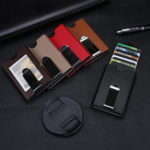 Оригинал RFIDАнтимагнитныйавтоматическийвсплывающийалюминиевыйкошелек