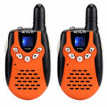 Оригинал 2штRetevisRT60222канала462-467 МГц Дети Mini Handheld Two Way Радио Walkie Talkie с зарядным устройством