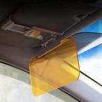 Оригинал РегулируемаяHD2в1Авто Солнцезащитный козырек Ночное видение Anti-glare Goggle Anti-Dazzle Mirror