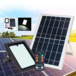 Оригинал 10W 150 LED Солнечная Powered Light Датчик Floodlight На открытом воздухе Security Wall Лампа с Дистанционное Управление