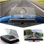 Оригинал Универсальный HUD Head Up Дисплей Авто Сотовый телефон GPS навигация Подставка для отражателя отражателя для iPhone