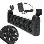 Оригинал 100-240 В переменного тока 6 Вентиляторы Аквариум Охлаждающий вентилятор системы охлаждения холодильного агрегата 12В адаптер