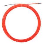 Оригинал 30M 4.5mm Змеиный кабель Push Puller Fish Tape Reel Conduit Канал для дутьевых выпрямителей Pulling Puller