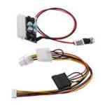 Оригинал 160W 24Pin DC 12V Pico ATX Switch PSU Auto Авто Mini ITX Модуль питания высокой мощности