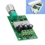 Оригинал 1206B 3A PWM DC Мотор Регулятор скорости 6V / 12V / 24V Регулятор скорости Электронный регулятор с подсветкой
