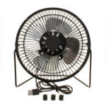 Оригинал Портативный 7 дюймов Mini USB Fan Super Mute Laptop PC Cooler Охлаждение Настольные вентиляторы