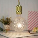Оригинал E27 4W G125 Gold Clear Ананас Неразмерная Теплый белый Эдисон Ретро Светодиодный Лампа AC220-240V