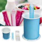 Оригинал DIYЛетнийморозильникЗамороженныеLollyIce Cream Popsicle Yogurt Mold Maker Cup
