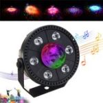 Оригинал RGB LED Сценический свет Strobe Light Crystal Ball Party Club DJ Disco Atmostphere Light AC90-265V
