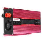 Оригинал 1000W DC12V / 24V до AC220V / 110V Солнечная Инвертор с инвертором синусоидального инвертора LCD Напряжение Дисплей