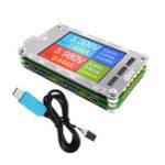 Оригинал T50N USB Двухканальный цветной экран Напряжение Токовый измеритель мощности QC2.0 QC3.0 PD Test