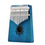 Оригинал 17 Ключи Африканское дерево из красного дерева Mbira Kalimba Клавиатура Thumb Piano Finger Percussion Instrument