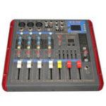 Оригинал Claite PMR506 4-канальный звуковой микшер звука Мощность Усилитель Professional Bluetooth