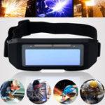 Оригинал Солнечная Автоматическое затемнение LCD Сварка Очки Маска Защитные очки для глаз 2 Way Wear