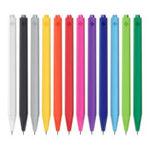 Оригинал 12Pcs / Set Xiaomi Radical 0.4mm Swiss Гель Ручка Предотвращает утечку чернил гладкой накладкой Ручка