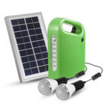 Оригинал 3W 9V Солнечная Панельный генератор Набор 6V USB-зарядное устройство Домашняя система с 2 лампами LED