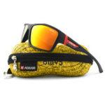Оригинал KDEAMKD510Летниеполяризованныесолнцезащитныеочки Мужчины HD Polaroid Объектив Упражнение Sun Очки Очки с маркой Hard Коробка