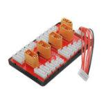 Оригинал PG Parallel Charging Board XT90 Plug Поддержка 4 Pack 2-6S 2-8S Lipo Батарея