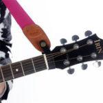 Оригинал SLADE Акустическая гитара Шея Адаптер для наушников с ремешком для синтетической кожи для гитарных деталей