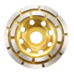 Оригинал 115 мм Алмазная бетонная шлифовальная чаша Дисковый сегмент Кирпичный гранитный камень Шлифовальный круг